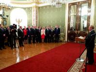 Владимир Путин, встреча с членами правительства РФ, 6 мая 2018 года