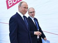 Владимир Путин и Сергей Кириенко