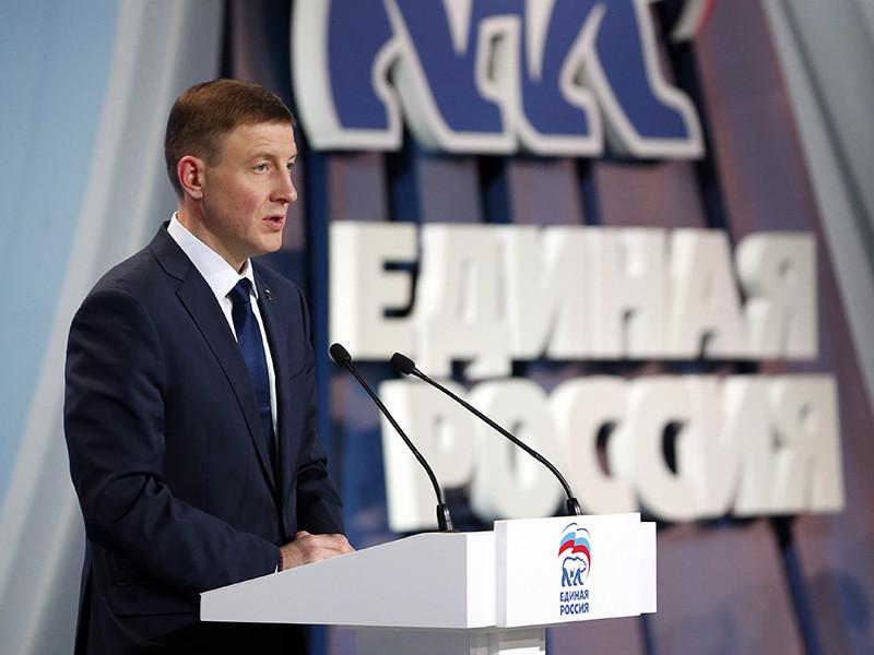Секретарь генсовета партии Единая Россия Андрей Турчак