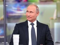 Путин провел 16-ю прямую линию, максимально отдалившись от народа: в зале было пусто, все общение - виртуально
