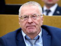 Руководитель франции ЛДПР в Государственной думе РФ Владимир Жириновский