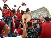 Тунисские  фанаты устроили в центре Москвы травлю болельщика с флагом Израиля