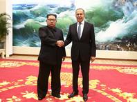 """На федеральном телеканале Ким Чен Ыну дорисовали улыбку от встречи с Лавровым, заметил """"Дождь"""""""