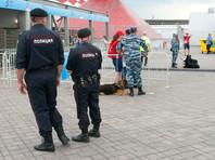 """Полиция у стадиона """"Открытие Арена"""""""