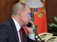 """Глава российского государства также """"выразил обеспокоенность обострением обстановки в Донбассе, ростом числа жертв среди мирного населения в результате участившихся обстрелов региона украинскими силовиками"""""""