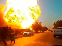 В Чечне при взрыве цистерн на АЗС пострадали 5 человек (ВИДЕО)