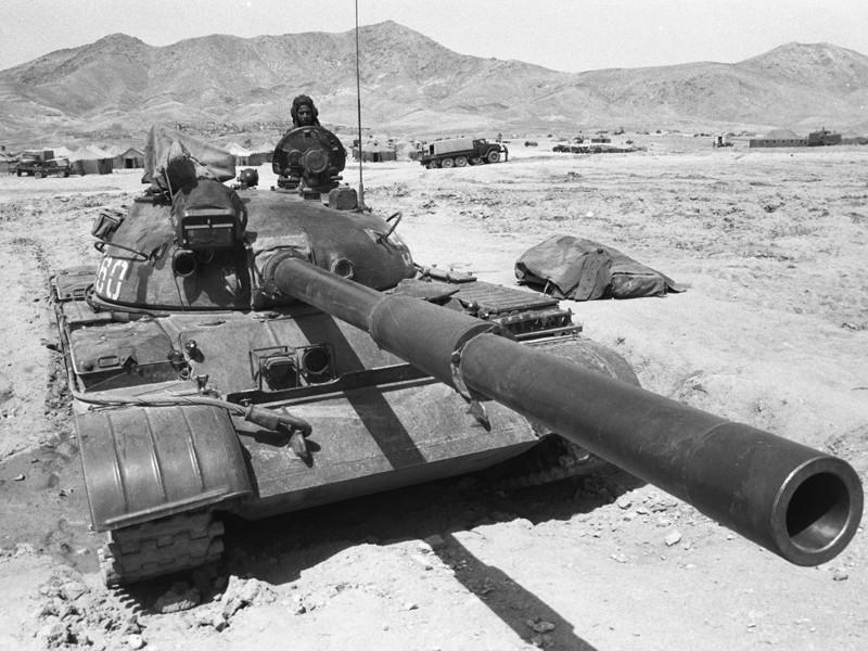 Воинская часть ограниченного контингента советских войск в горах Афганистана, апрель 1980 года