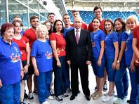 Путин впервые сказал, что думает о пенсионной реформе, выбрав местом для важного признания стадион ЧМ