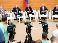Пресс-конференция председателя Государственной Думы и лидеров фракций по итогам 4-й сессии Государственной Думы седьмого созыва