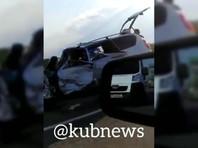 На Кубани в ДТП погибли 9 человек, а 19-летняя девушка попала в реанимацию