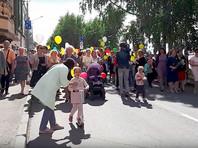 В Архангельске в День семьи и верности прошел парад детских колясок (ФОТО, ВИДЕО)
