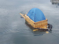 Сахалинец из села Правда, который пытался уплыть в Японию на самодельной лодке, заплатит штраф