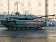 """Американский журнал National Interest опубликовал статью, посвященную вооружению российского танка Т-14 """"Армата"""". Комплекс активной защиты """"Афганит"""", который устанавливают на этих танках, назван """"инновационным"""" и """"секретным"""" оружием России"""