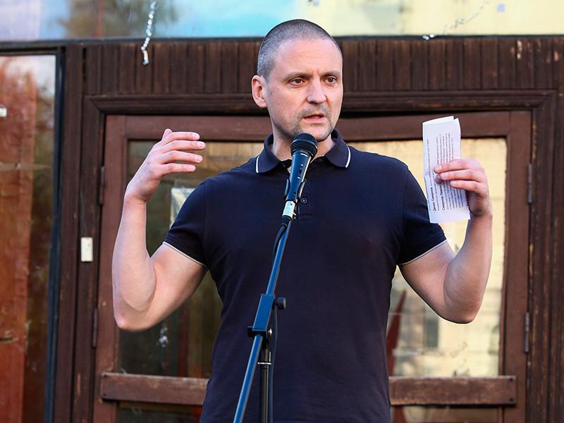 Суд арестовал Удальцова на 30 суток