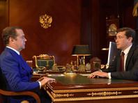 Рядовая встреча Медведева с губернатором стала топовой новостью: премьер нашелся после двухнедельной пропажи