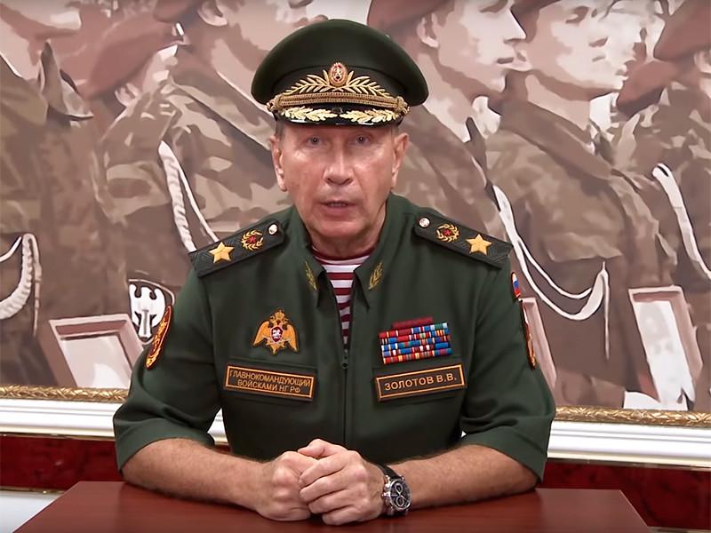 """Глава Росгвардии вызвал арестованного Навального на дуэль, пообещав сделать из него """"сочную отбивную"""""""