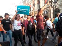 9 сентября акции, организованные сторонниками Алексея Навального, прошли  в десятках городов России