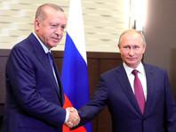 В Сочи Путин и Эрдоган договорились не вести боевых действий в Идлибе
