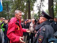 В Екатеринбурге среди задержанных оказался бывший мэр города Евгений Ройзман