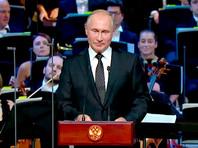 """Путин изящно попиарил украшателей Москвы на открытии концертного зала в """"Зарядье"""" в """"день тишины"""" перед выборами"""