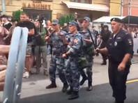 На акциях протеста против пенсионной реформы задержаны более тысячи человек
