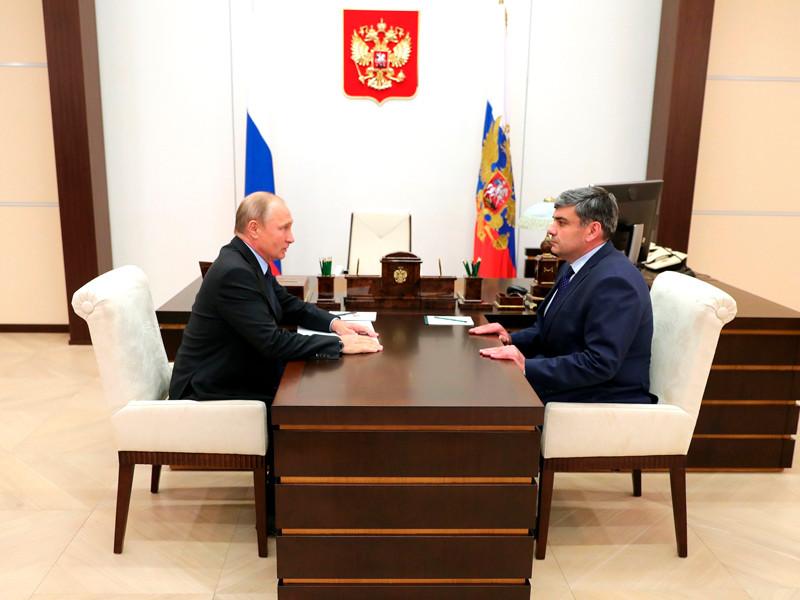 Владимир Путин провел рабочую встречу с Казбеком Коковым