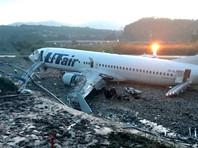 Неудачная посадка самолета во время шторма в Сочи: пожар, разрушения, 18 пострадавших и один погибший (ВИДЕО)
