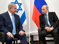 Премьер-министр Израиля Биньямин Нетаньяху в ходе телефонного разговора с президентом РФ Владимиром Путиным во вторник выразил сожаление в связи с гибелью российских военных при крушении самолета радиоэлектронной разведки и РЭБ Ил-20