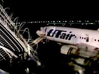 На борту находились 164 пассажира и шесть членов экипажа. Пострадали 18 пассажиров, включая трех детей. Троим потребовалась госпитализация - взрослому и двум детям, их жизни и здоровью ничто не угрожает. Сотрудник аэропорта скончался в результате сердечного приступа