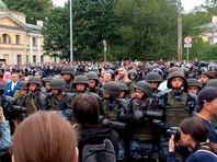 Рассмотрение дел участников несогласованных акций продолжается в разных городах России