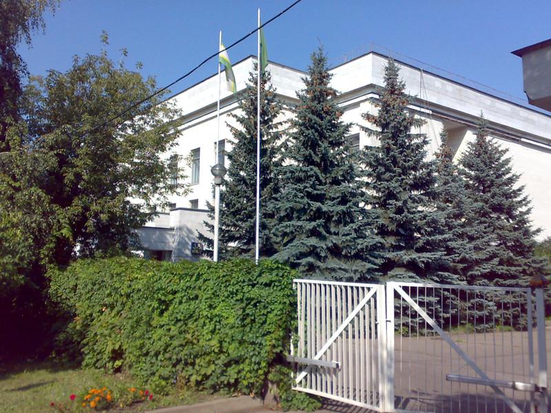Посольство Ливии в России