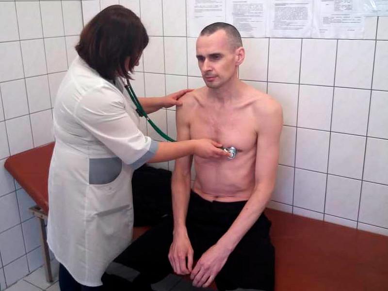 Олег Сенцов, Лабытнангская городская больница, 28 сентября 2018 года