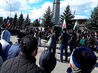 Власти Ингушетии пообещали не разгонять участников бессрочной акции протеста силой, но дали понять, что их мнение не в счет