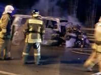 Семь человек погибли при столкновении двух грузовиков и микроавтобуса на скоростном диаметре в Петербурге