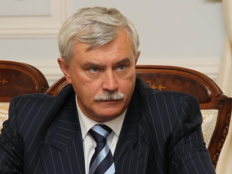 Губернатор Петербурга Полтавченко ушел в отставку