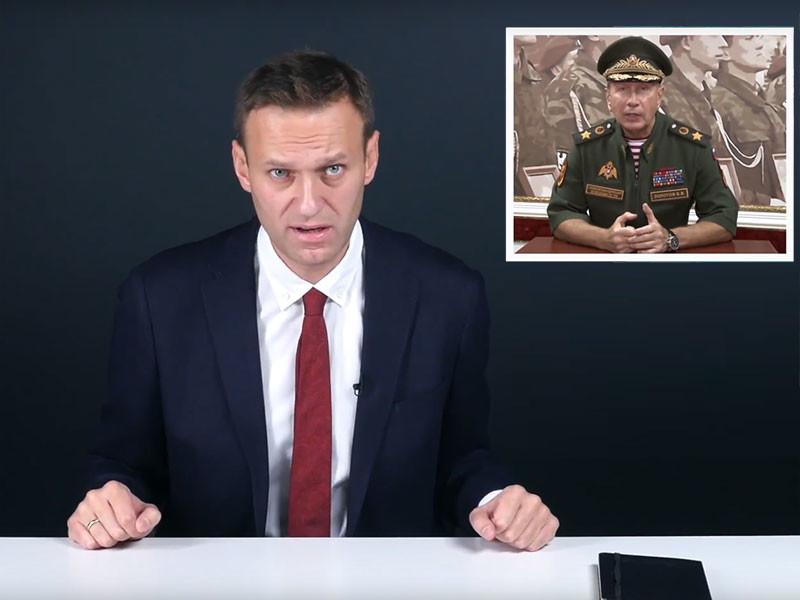 Оппозиционер Алексей Навальный наконец записал видеоответ главе главе Росгвардии Виктору Золотову