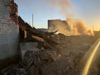 Два человека погибли из-за взрыва на на заводе пиротехники в Гатчине