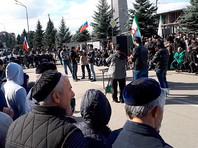 Власти Ингушетии дали протестующим только два дополнительных дня на митинг вместо десяти