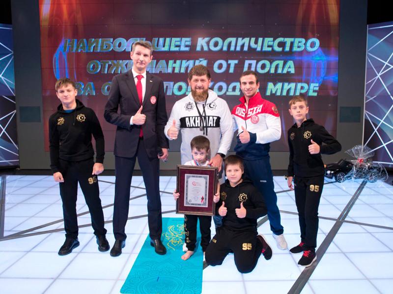 """Кадыров объявил """"почетным гражданином Чечни"""" 5-летнего мальчика, установившего 6 мировых рекордов"""