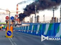 Пожар на МНПЗ потушили, в МЧС рассказали о предотвращении взрыва