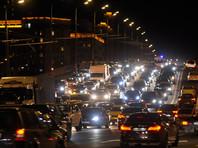 Москва встала: в городе вечером зафиксированы девятибалльные пробки
