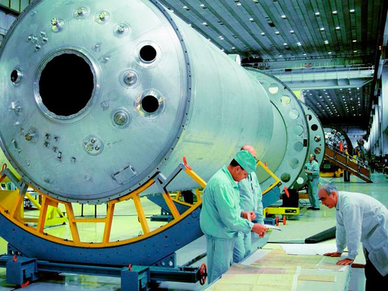"""Центр имени Хруничева, где производятся тяжелые ракеты """"Протон"""" и """"Ангара"""""""
