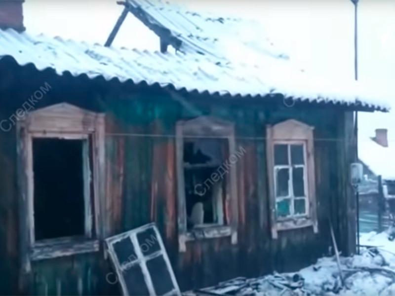 В Кузбассе на пожаре погибла многодетная семья - двое взрослых и шестеро детей