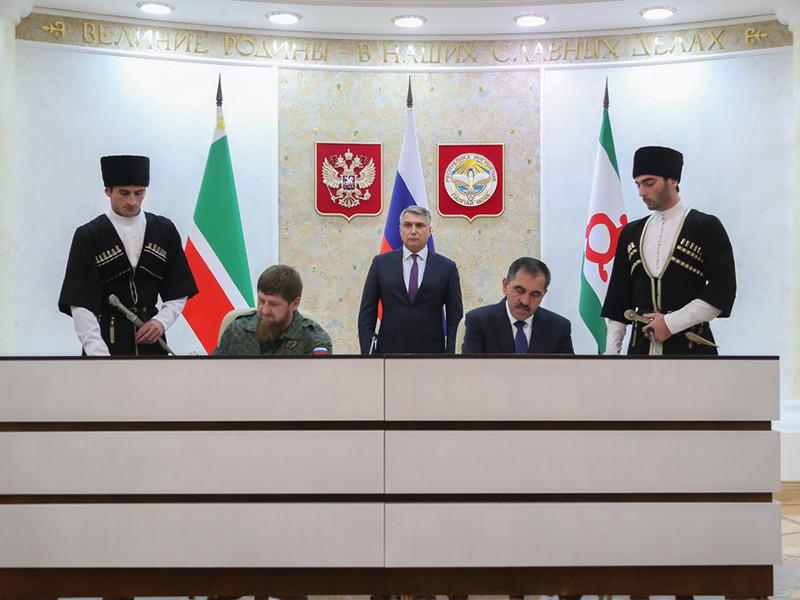 Скандальное соглашение о границе Ингушетии и Чечни рассмотрят в Конституционном суде РФ по запросу Евкурова