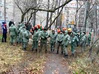 В Кунцево на защиту скандальной стройплощадки согнали охранников и ОМОН, среди задержанных 70-летняя москвичка (ВИДЕО)
