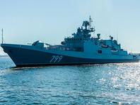 """Вооруженный """"Калибрами"""" фрегат """"Адмирал Макаров"""" пополнит соединение ВМФ в Средиземноморье"""