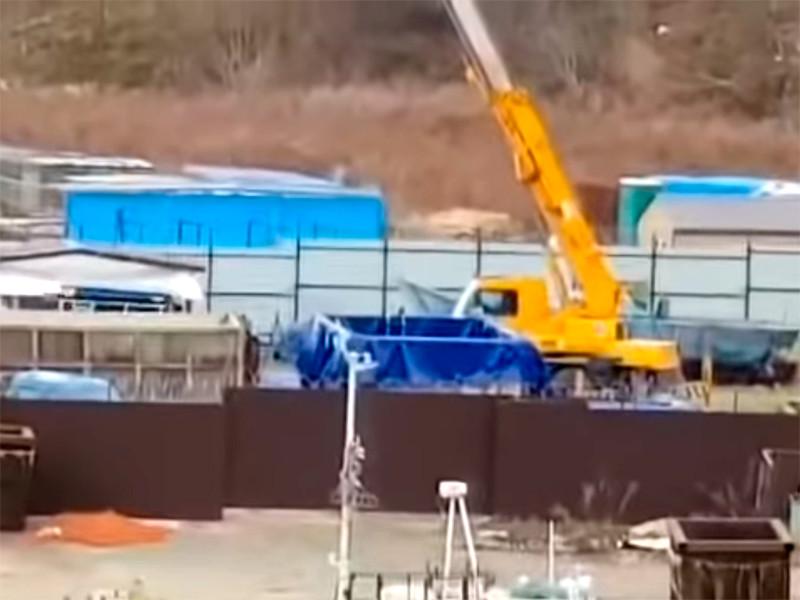 """СМИ сообщили о вывозе косаток из """"китовой тюрьмы"""" под Находкой перед прокурорской проверкой"""