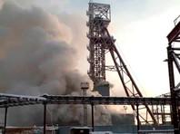 Девять горняков заблокировало в горящей шахте Соликамска, шансов на их спасение почти нет