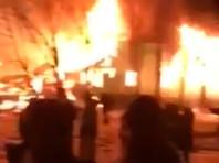 В ХМАО при пожаре пострадали десять человек