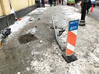 В Москве задержали таксиста, сбившего дорожных рабочих и сбежавшего с места аварии